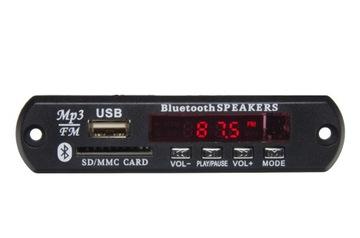 MP3 prehrávač na SD, USB s FM Montážou kokpit auta