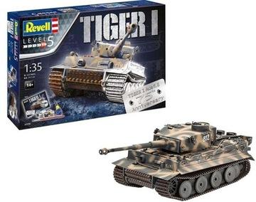 Model pre lepenie revell tank tiger a Ausf.e 75T