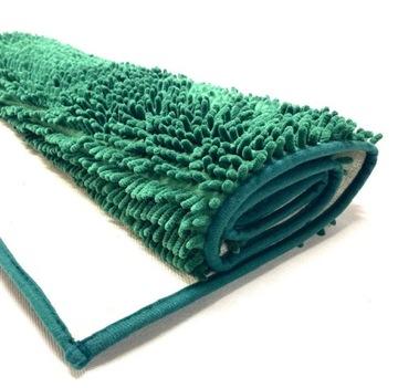 Veľký šenilový chlpatý kúpeľňový koberec 70x120 Z