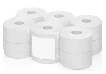 JUMBO toaletný papier 100% celulóza 12 položiek! Hit!