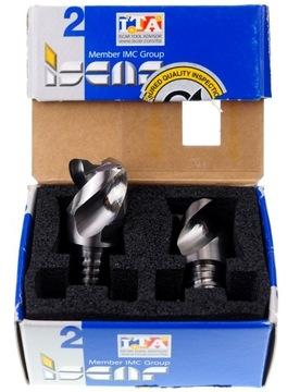 VHM Fi hliníková fréza 20 mm R2 T12 Iscar IC08 2x