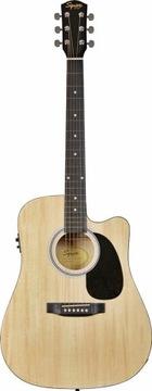 Squier SA-105CE prírodná elektro-akustická gitara