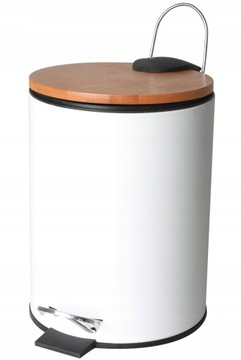 Kúpeľňa Košík 3L White Mat Bambus