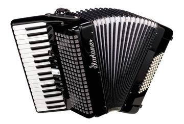 AKORDED STARTO Piano 72 Bass Black + Case