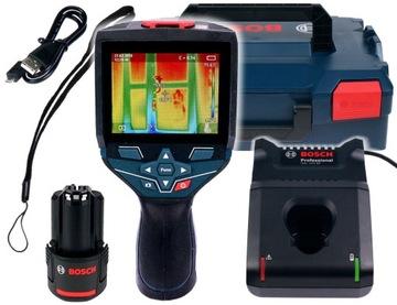 Tepelný optočenie GTC 400 C BOSCH Tepelná zobrazovacia kamera