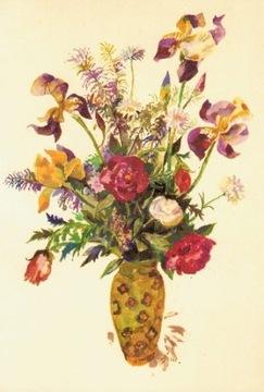 Pohľadnice Kvety Jan Marcin. Box