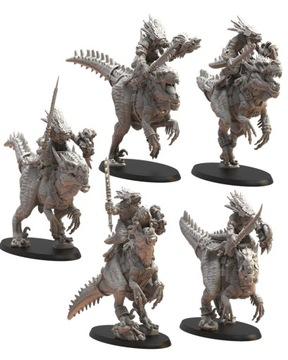 EZOCAMATL KNIHY / Saurus Knights - stratené kráľovstvo