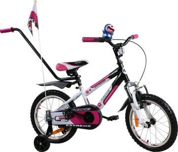 Detský bicykel BMX bicykel 16 BASKET ARTi sprievodca