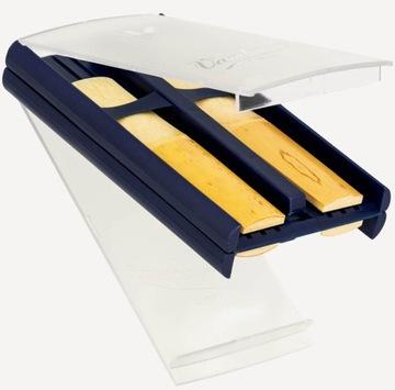 Krabica pre 4 crinet reeds a vandoren saxofón