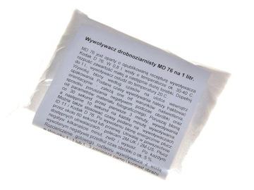Jemnozrnná naliehavosť m d76 pre film a film