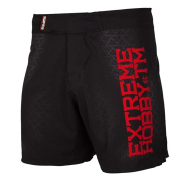 Šortky MMA Pánske tréning Čierny Armor L