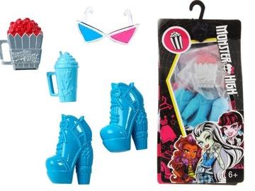 Monster High strašidelné doplnky pre bábiky popcorn