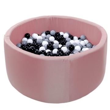 Suchý bazén 150 loptičiek guľôčok ružový vodotesný