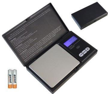 Hmotnosť vrecka 500g / 0,01 g šperky LCD gramov