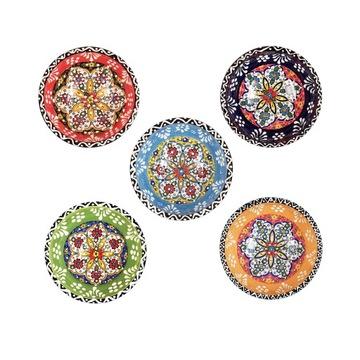 Keramická miska ručne zdobená 8 cm Turecko