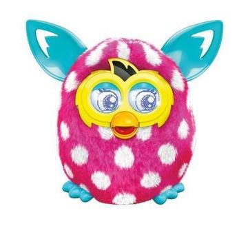 Furby Boom Pink Polka Dots Rose Interactive Hovorí