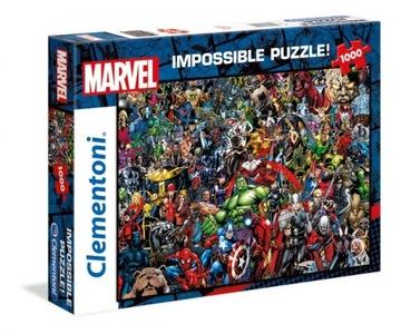 Puzzle 1000 prvkov nemožné diviť