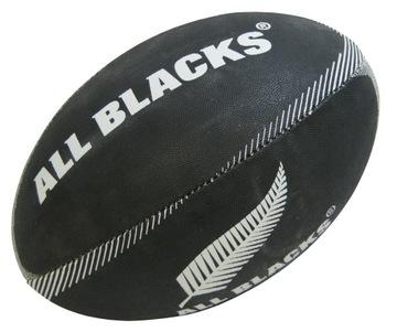 Ball Podporovateľ Mini Gilbert Rugby všetky čierne