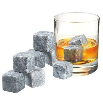 Kamene na whisky, kocky ľadu, skaly na whisky