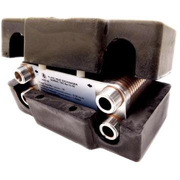 Výmenník tepla 25KW 30 Nordická platňa s izoláciou