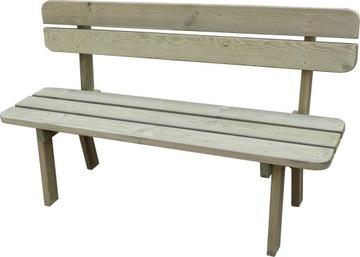 Záhradná lavica 150 cm. ROBUSTNÝ STABILNÝ VÝROBCA