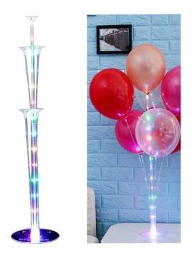 Stojan na LED balóniky na narodeniny, svadbu, XXL narodeniny