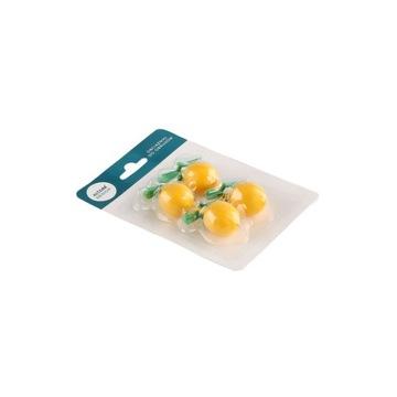 Závažia na obrusy citrónové závažia, sada 4