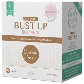 Bust up Duo pre väčšie pevnejšie prsia 90 kapsúl.