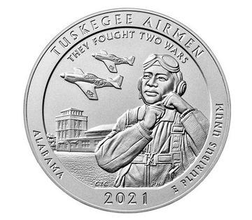 USA parky - Tuschegee Airmen National 2021 D