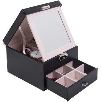 Casket Casket Cube pre šperky hodinky