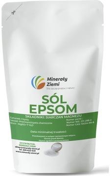 Horčíka síranová soľ EPSOM Soľ čistý 3KG