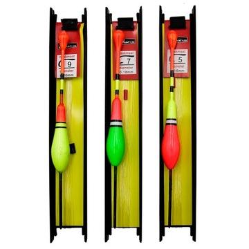 3 x plavák pre distribúciu distribúcie BATA