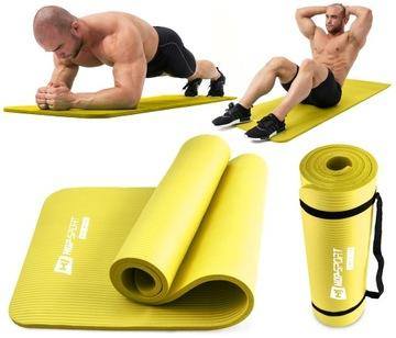 Zahusťovadlo rohože hrubé 1,5 cm fitness jóga jóga hs