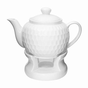 Džbán s vykurovacím čajovým čajom