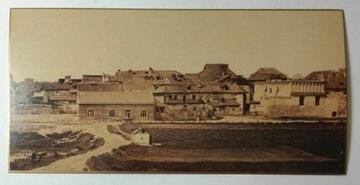 Pohľadnica Panorama Kazimierz Kraków 1870 REV SPK