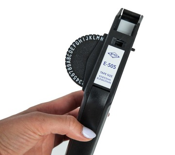 Extrudér MOTEX E505 Čierna label