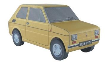 Model pre deti_Fiat 126p _extramodel