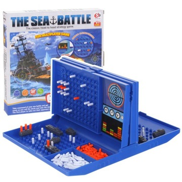 Logická strategická hra v námornej bitke lodí