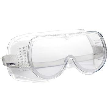 Ochranné okuliare Ochranné okuliare vetrané bezfarebné zdravie a bezpečnosť