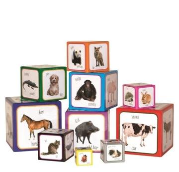Montessori vzdelávacia hra Pyramid Blocks Tower