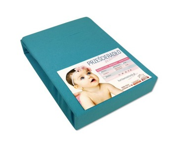 BABY BED SHEET 80x160 PRE HOTOVÚ farbu
