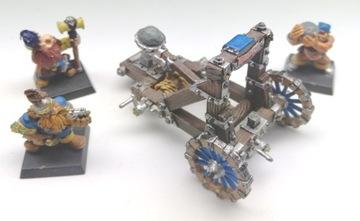 Trpaslík Kamenný thrower + Crew Metal Set