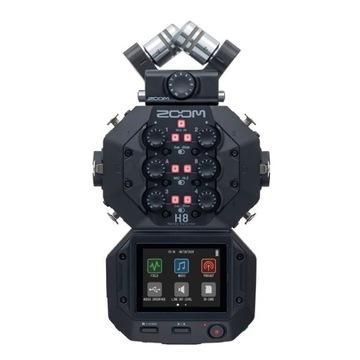 Zoom H8 Black - Digitálny zvukový záznamník