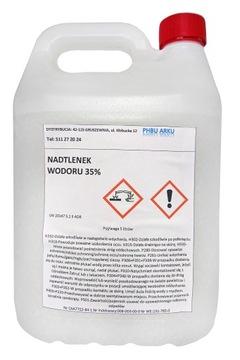 Peroxid vodíka 35% pre perhydrol 5000ml