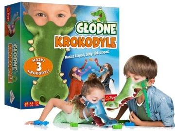 Graznościowa Głodne Krokodiele TREFL 01624