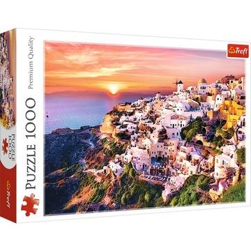 Sunset Puzzle Over Santorini 1000 El Trefl