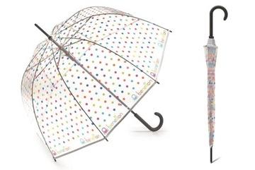Deep Umbrella Benetton Transparentný, Automaton