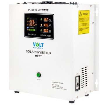 Solárny invertor SINUS 1500W 12V 230V Inverter
