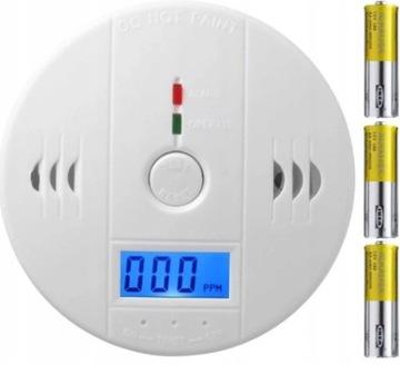 Detektor chatového senzora z plynového oxidu oxidu CO LCD +