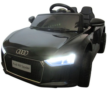 Audi R8 Auto na batérii EVA Kožená pilota 2.4g
